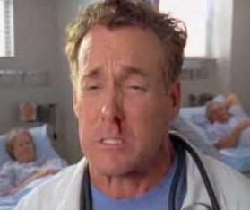 Epistaxis de la serie de televisión Scrubs